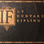 If van Rudyard Kipling: om de moed er in te houden