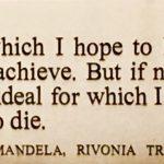 De woorden die Nelson Mandela tijdens het Rivonia-proces ter verdediging aanvoerde