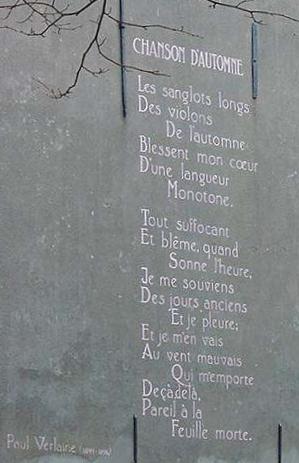 Chanson d'Automne - Paul Verlaine