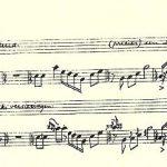 Jan Hanlo luisterde naar merels en noteerde hun zang