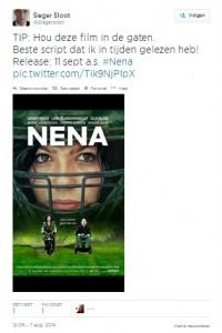 Sieger Sloot, tweet over Nena