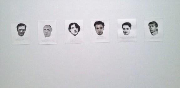 Famous men - Marlene Dumas