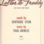 De wortels van Gertrude Stein die naar Paul Bowles leiden