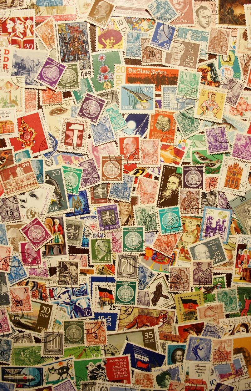 Postzegels DDR