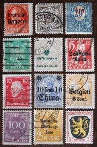 Postzegels Duitsland