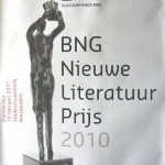 BNG Literatuurprijs: prijs voor schrijver die goed bezig is