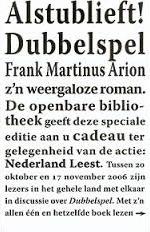 Dubbelspel - Frank Martinus Arion