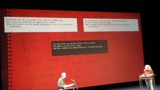 Poetry, vertalersslam Robbert-Jan Henkes en Erik Bindervoet