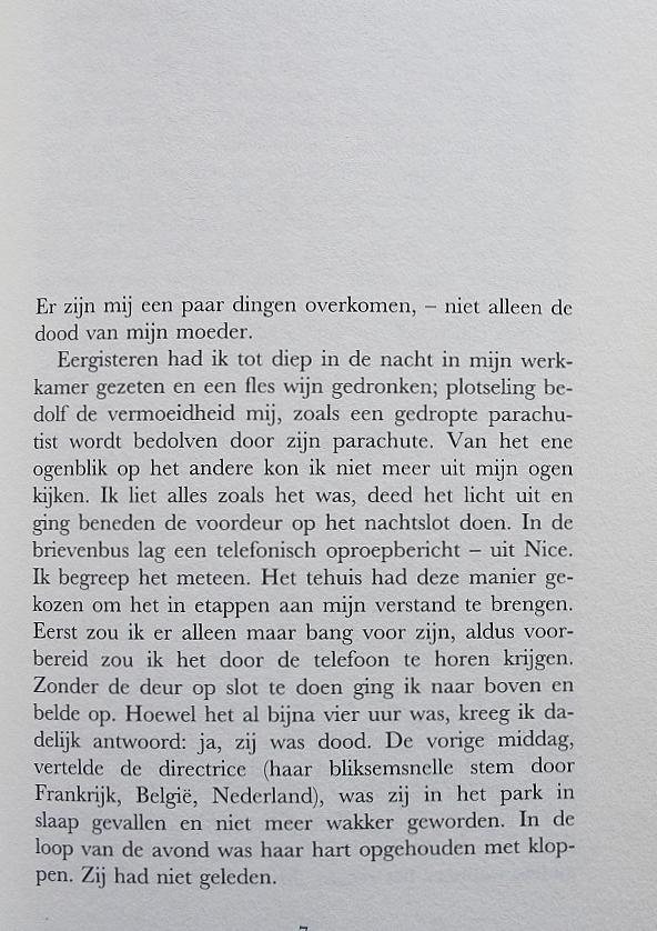 Twee vrouwen - Harry Mulisch, pagina 1