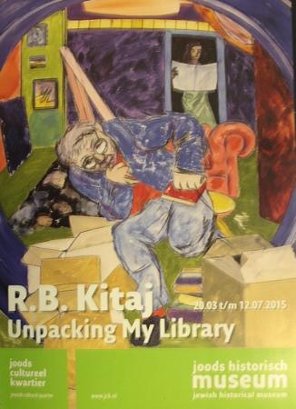 Unpacking my library - R B Kitaj