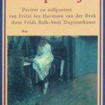 Frida Balk-Smit Duyzentkunst over Fritzi ten Harmsen van der Beek