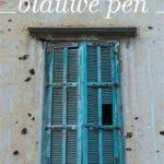 Eerste zin: De blauwe pen – Samar Yazbek