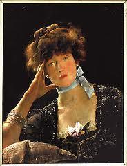 Sarah Bernhardt - Alfred Stevens