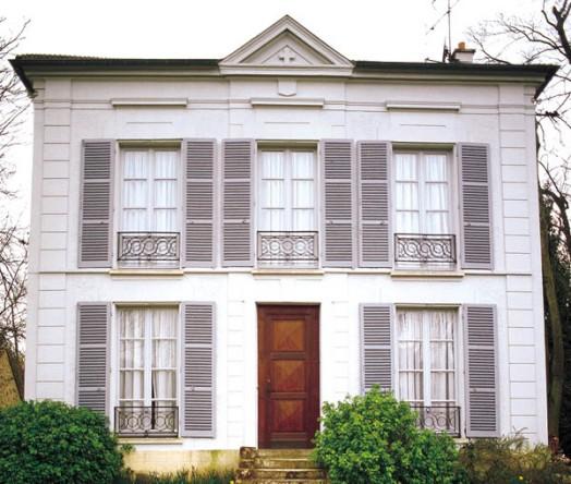 Ancien presbytere Choisel, de pastorie waar Michel Tournier sinds 1962 woont