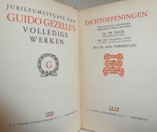 Dichtoefeningen - Guido Gezelle