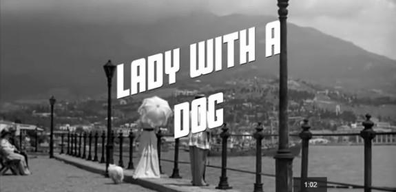 De dame met het hondje, still uit de film van Iosif Chejfits
