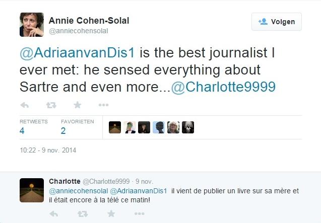 Tweet Annie Cohen-Solal