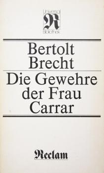 Die Gewehre der Frau Carrar - Bertolt Brecht