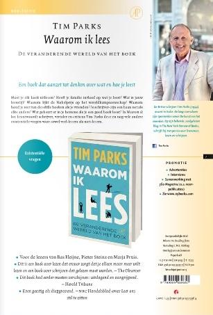 Waarom ik lees - Tim Parks