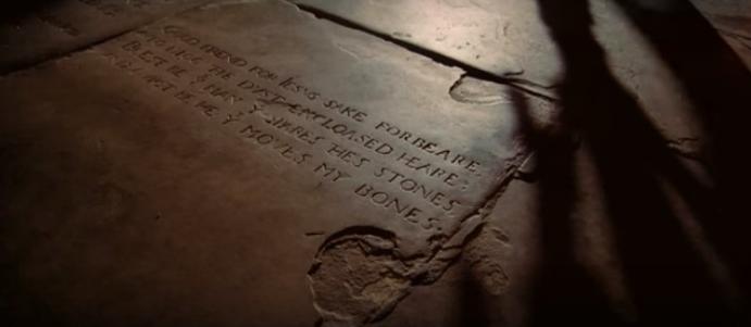 Grafsteen Shakespeare