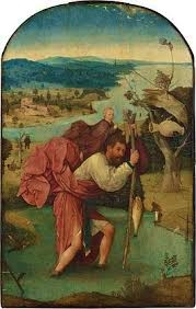 De heilige Christophorus - Jheronimus Bosch