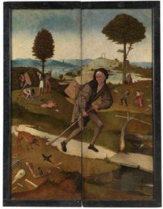 De marskramer, De hooiwagen - Jheronimus Bosch