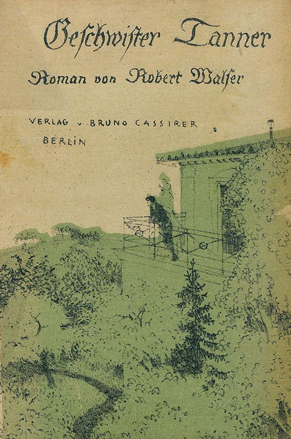 Geschwister Tanner - Robert Walser